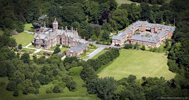 Allerton Priory, Liverpool  aerial photograph