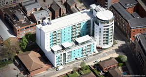 circle 109 Liverpool  aerial photograph