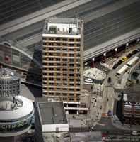 Concourse House Liverpool aerial photograph