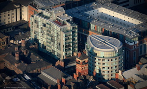 Eden Square, Cheapside, Liverpool, aerial photograph