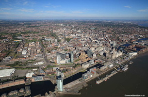 Liverpool  aerial photograph