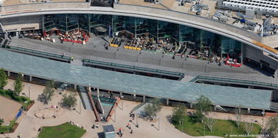 Liverpool ONE aerial photograph