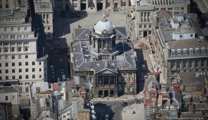 Liverpool Town Hall aerial photograph