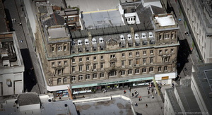 Marks & Spencer Liverpool  aerial photograph
