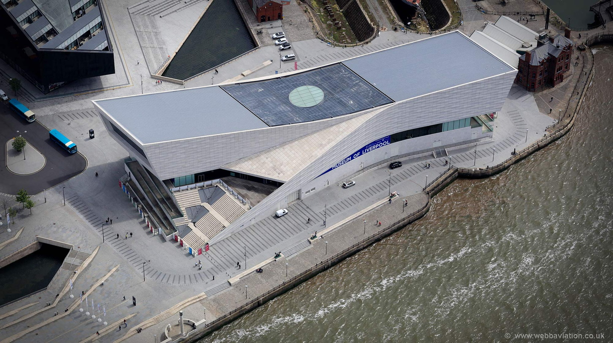 Museum of Liverpool aerial photograph