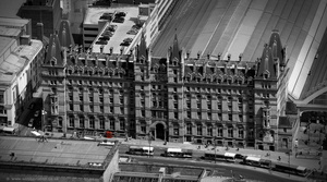 North Western Hotel, Liverpool aerial photograph