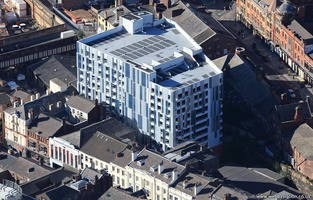 Secure Parking Liverpool Central Car Park  aerial photo