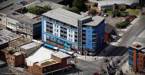 The Gateway Conference Centre Liverpool  aerial photograph