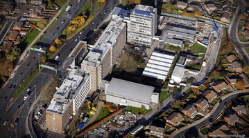 Liverpool John Moores University  aerial photograph