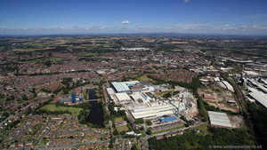 Knauf Insulation St Helens Glass Mineral Wool Plant from the air