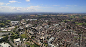 St Helens from the air