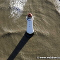 New Brighton Lighthouse   UK aerial photograph