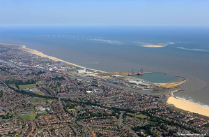Great Yarmouth   aerial photograph