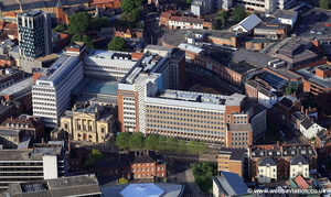Aviva Headquarters Norwich aerial photo