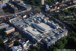 Chapelfield Shopping Centre Norwich aerial photo