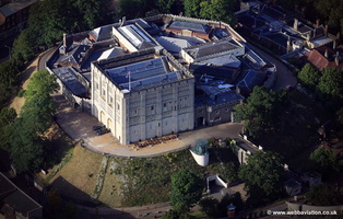 Norwich Castle   aerial photo