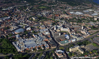 Norwich City Centre Norwich aerial photo