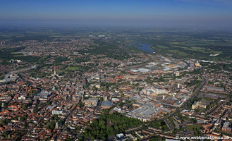 Norwich  aerial photo