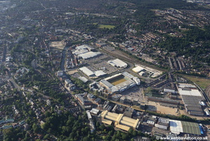Riverside Retail Park Norwich aerial photo