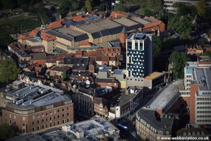 Westlegate Tower  Norwich aerial photo
