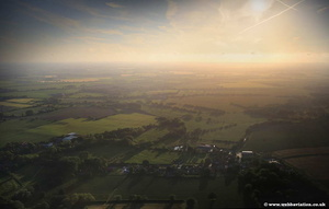 Swafield at sunset  aerial photograph