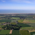 aerial photograph of West Somerton Norfolk England UK
