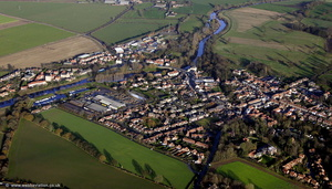 Boroughbridge  North Yorkshire aerial photograph