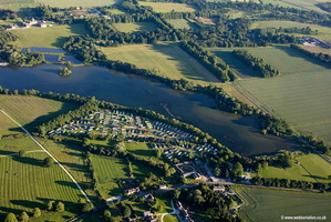 Castle Howard Lakeside Holiday Park York  aerial photograph