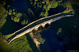New River Bridge Castle Howard Yorkshire  aerial photograph