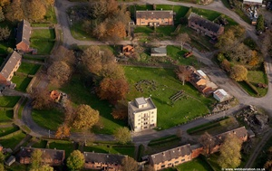Urban Training Centre, Whinney Hill Catterick Garrison North Yorkshire  from the air