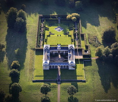 Studley Royal Park Yorkshire aerial photograph