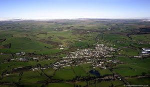 Gargrave North Yorkshire aerial photograph