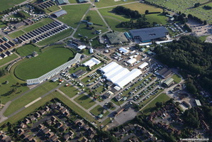 Great Yorkshire Showground Harrogate  aerial photograph