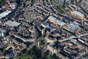 Majestic Hotel and  Harrogate International Centre  aerial photograph