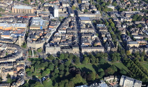 Prospect Place & Vicinity Harrogate aerial photograph