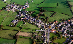 Hunton , North Yorkshire  from the air