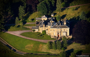 Kirkham Hall Yorkshire  aerial photograph