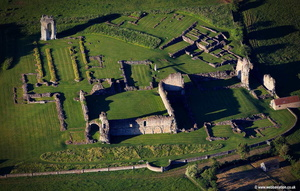 Kirkham Priory  aerial photograph
