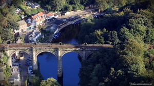 Knaresborough Yorkshire  aerial photograph