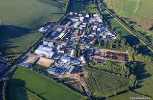 York Road Industrial Park Malton  aerial photograph