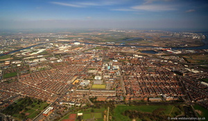 Middlesbrough aerial photograph