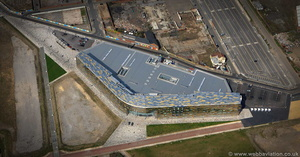 Middlesbrough College aerial photograph