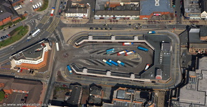 Middlesbrough bus station aerial photograph