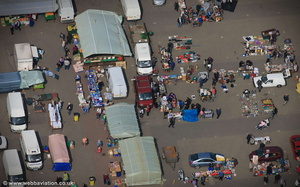 North Ormesby Market Middlesbrough aerial photograph