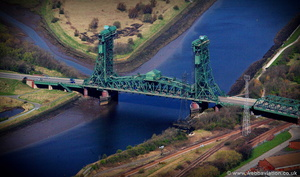Tees Newport Bridge aerial photograph