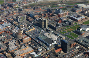 The Cleveland Centre Middlesbrough aerial photograph
