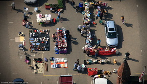 market treasures aerial photograph