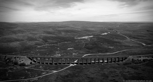 Ribblehead Viaduct from the air