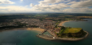 Scarborough, North Yorkshire from the air