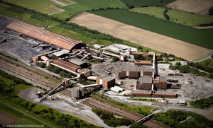 Gascoigne Wood Mine, Selby Coalfield airfield from the air